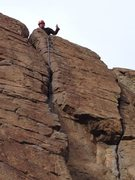 Rock Climbing Photo: Tommy gives Killian's Dead a thumbs up!