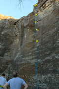 Rock Climbing Photo: Just right of Dihedral Crack