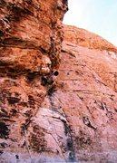 Rock Climbing Photo: Mic's Master crux