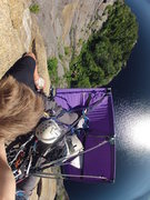Rock Climbing Photo: Enjoying the morning view.