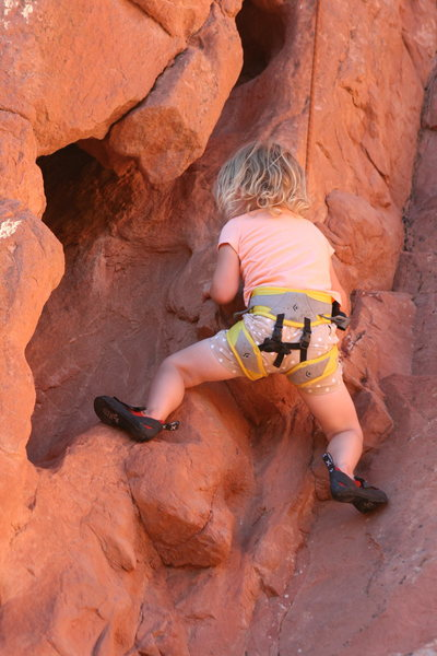 Rock Climbing Photo: In the pothole