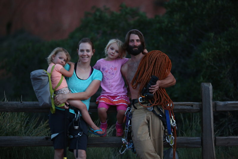Rock Climbing Photo: At The Garden with the Fam