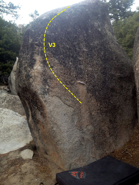 Rock Climbing Photo: Unnamed v3