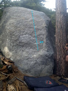 Rock Climbing Photo: Boulder K Slab (v1)