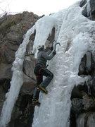 Rock Climbing Photo: Nice ice.