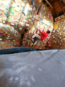 Rock Climbing Photo: Right side of garage