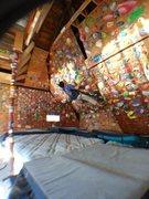 Rock Climbing Photo: Left side of garage