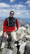 Rock Climbing Photo: Top of grand Teton OS rout