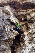 Rock Climbing Photo: Leading at Reimer's- North Shore
