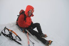 Rock Climbing Photo: Yanapaccha summit (5460m) via direct route, AD 200...