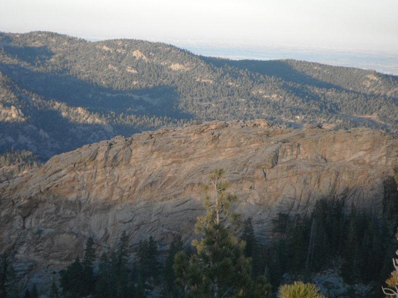 Echo Canyon near the Wondervu Cafe in Coal Creek Canyon.