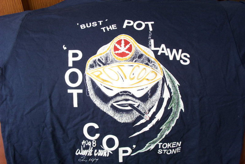 Bust the Pot Laws.
