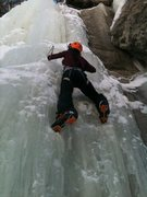 Rock Climbing Photo: ice climbing in vail, co