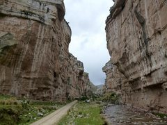 Rock Climbing Photo: The canyon