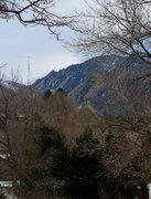 Rock Climbing Photo: Bad photo of Flatirons conditions as of 15 Jan 201...