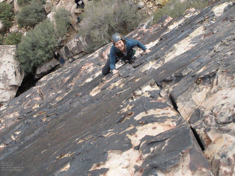 Rock Climbing Photo: The joy ....