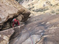 Rock Climbing Photo: Aaron, start of the day