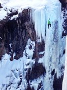 One of the best lines we climbed all weekend!