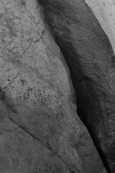 Rock Climbing Photo: East crack