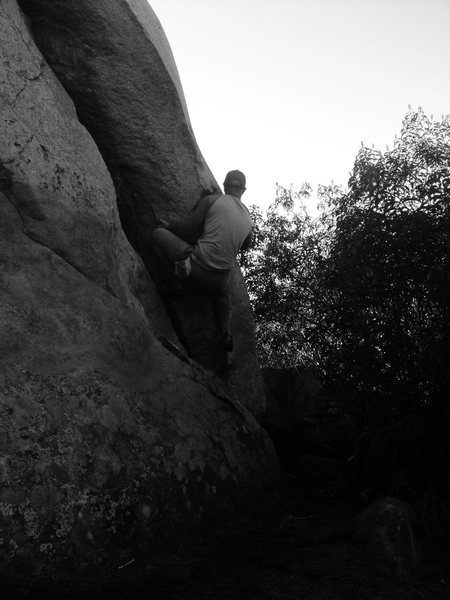 Rock Climbing Photo: Tech 9