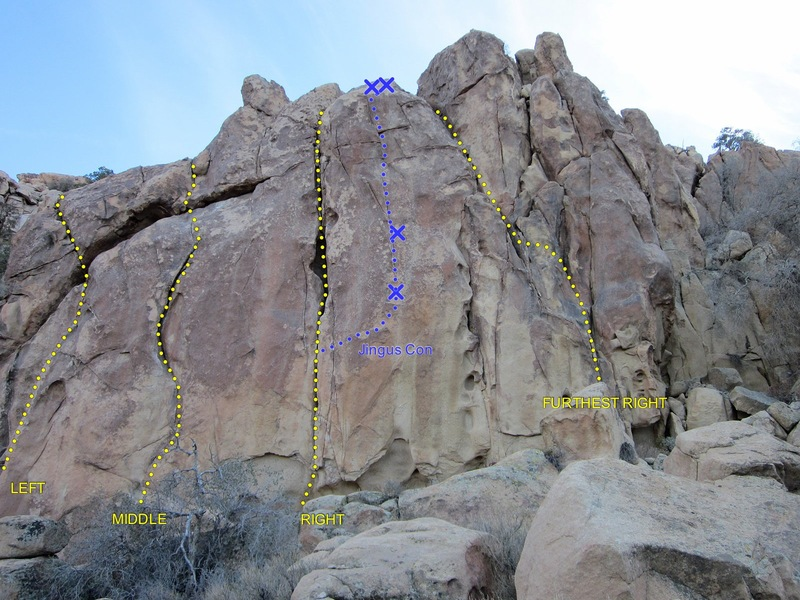 Rock Climbing Photo: Crag overview