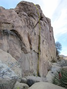 Rock Climbing Photo: Looking into the left S Crack