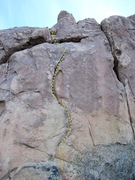 Rock Climbing Photo: MIddle S Crack