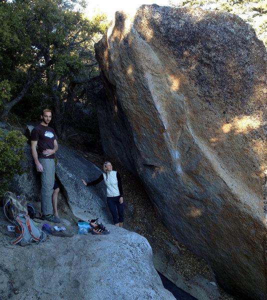 Rock Climbing Photo: Ivan after sending the Dan Osman Arete