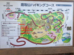Rock Climbing Photo: Map found at Takatori Yama.  A nice hike in from H...