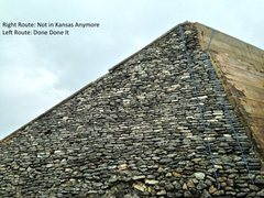 Rock Climbing Photo: Beta for Not in Kansas Anymore.