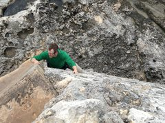 Rock Climbing Photo: Sending Not in Kansas Anymore.