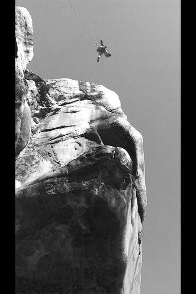 Rock Climbing Photo: Bodhisattva Arête!