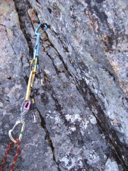 Rock Climbing Photo: Wanna fall on that?