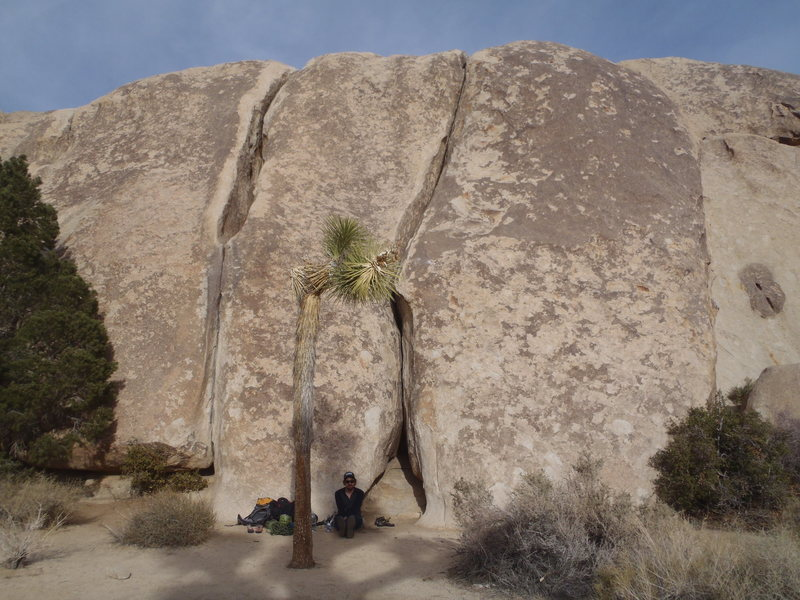 Rock Climbing Photo: Middle Peyote Crack (left), and Right Peyote Crack...
