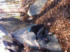 Rock Climbing Photo: Low start variation
