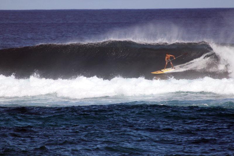 Josh Stone at Kuau<br> Photo: Olaf Mitchell