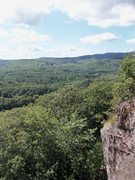 Rock Climbing Photo: The view from the top of Mowgli Grape... not bad f...