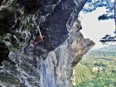 Rock Climbing Photo: My first time on Orangahang