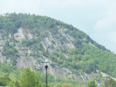 Rock Climbing Photo: Big cliff in Berlin, NH. Anybody know what its cal...