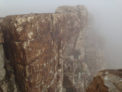 Rock Climbing Photo: The Fog Wall.