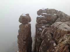 Rock Climbing Photo: Fog Tower