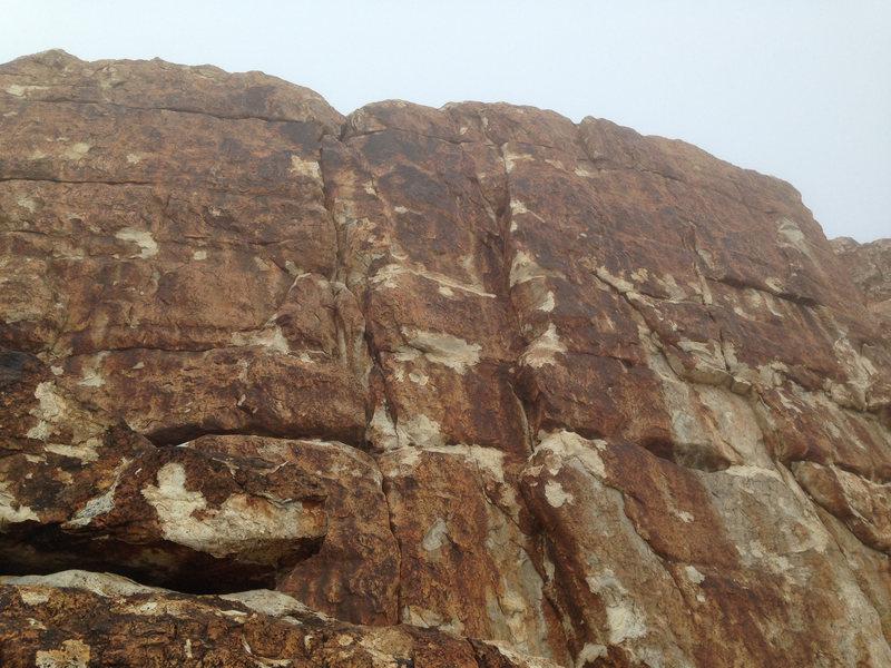 Rock Climbing Photo: Fog Wall