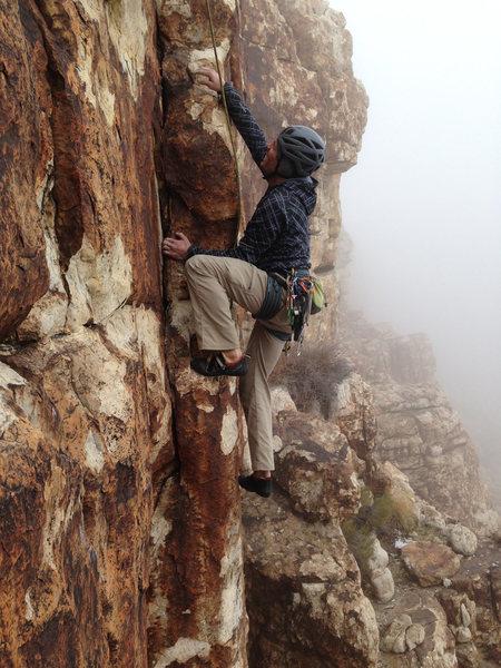 Rock Climbing Photo: Fog City