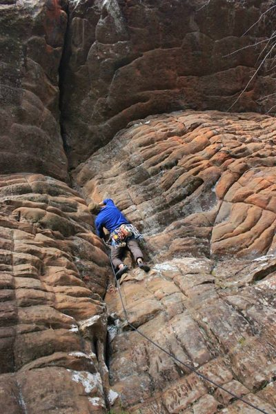 Rock Climbing Photo: Great Climb!