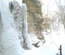Rock Climbing Photo: The 'Mongoose' at Tonti, 2009, with the folded bac...