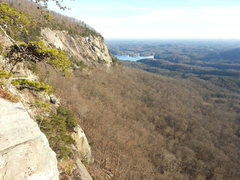 Rock Climbing Photo: View out toward the main area with Spiders & Snake...