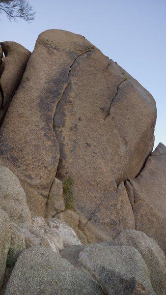 South side of the AMC boulder