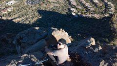 Rock Climbing Photo: The summit