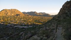 Rock Climbing Photo: Pinnacle Peak Sunsets are pretty great.