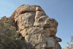 Rock Climbing Photo: Cereal Rock, Northeast Face